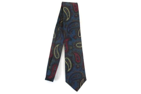 Austin Reed Of Regent Street Italian Silk Neck Tie Usa Made Paisley Print Mens Ebay