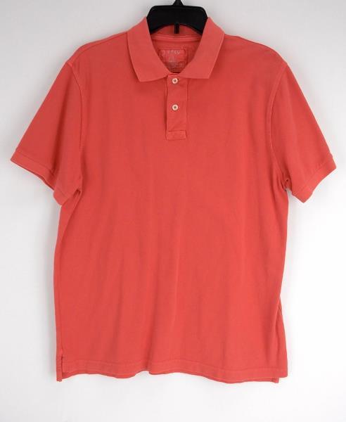 670ca0f8 Details about J CREW Pink Vintage Polo Shirt Short Sleeve 100% Cotton Men's  L