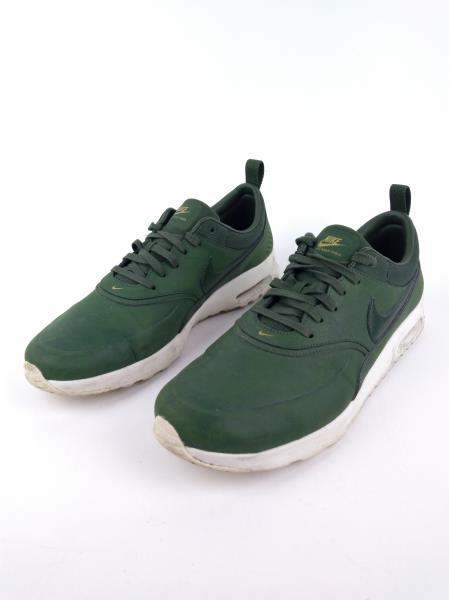 Nike Air Max Thea Premium Womens 616723 304 Carbon Green Running Shoes Size 12